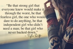 Be the girl